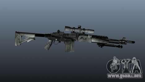 Rifle de francotirador M21 Mk14 v1 para GTA 4 tercera pantalla