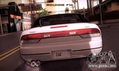Nissan 240SX 1991 Tunnable para vista lateral GTA San Andreas