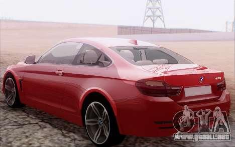 BMW 435i para la visión correcta GTA San Andreas