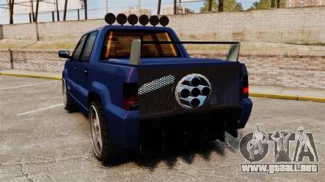 FXT Ultima para GTA 4 Vista posterior izquierda