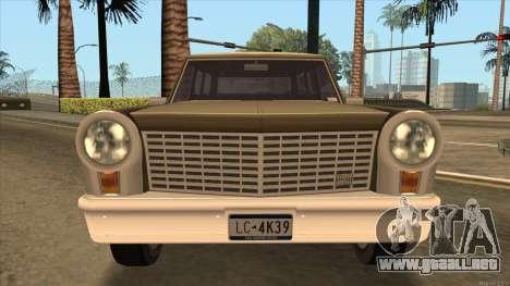 Perennial HD from GTA 3 para la visión correcta GTA San Andreas