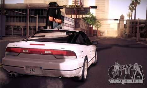 Nissan 240SX 1991 Tunnable para la visión correcta GTA San Andreas