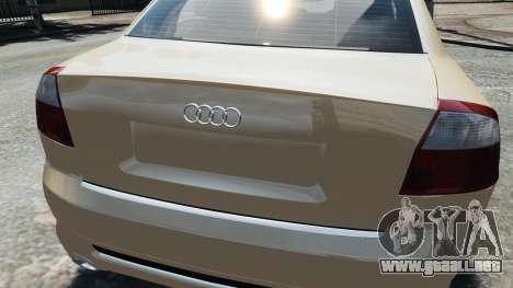 Audi S4 2004 para GTA 4 visión correcta