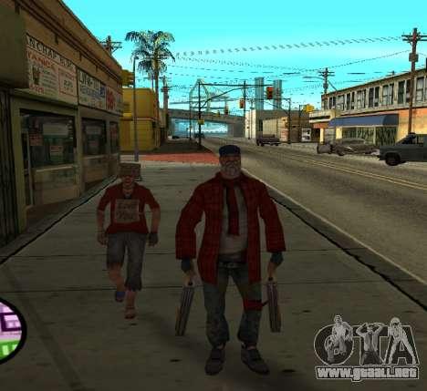Vagos para GTA San Andreas segunda pantalla