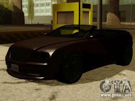 Cognocsenti Cabrio de GTA 5 para GTA San Andreas left