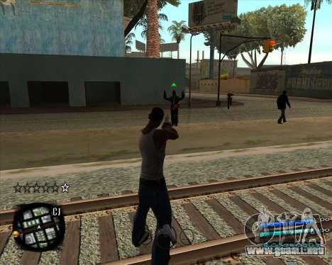 C-HUD by Menson para GTA San Andreas segunda pantalla