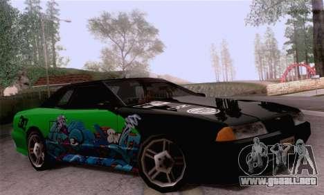 El trabajo de pintura para Elegy para GTA San Andreas