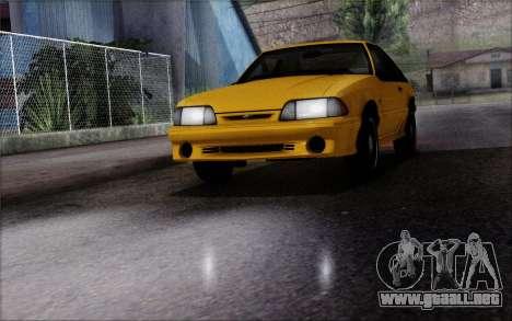 Road Reflections Fix 1.0 para GTA San Andreas segunda pantalla
