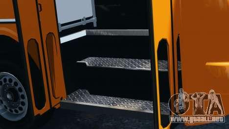 Ikarus 260 para GTA 4 vista hacia atrás
