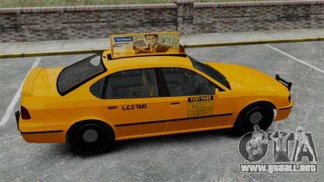 Real publicidad en taxis y autobuses para GTA 4 séptima pantalla