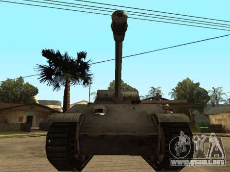 Pzkfpw V Panther para GTA San Andreas left