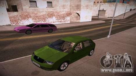 Skoda Fabia para la visión correcta GTA San Andreas