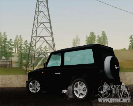 Mercedes-Benz G500 1999 Short para GTA San Andreas left