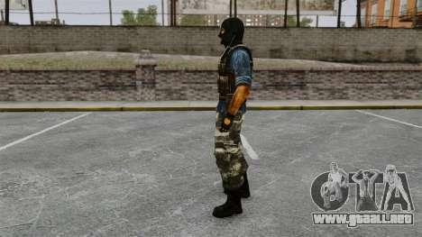 Terrorista Europea Oriental Phoenix para GTA 4 segundos de pantalla