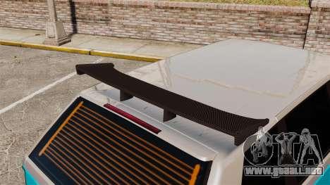 Extreme Spoiler Adder 1.0.7.0 para GTA 4 sexto de pantalla