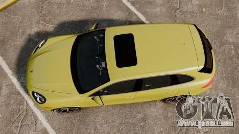 Porsche Cayenne 2012 SR para GTA 4 visión correcta
