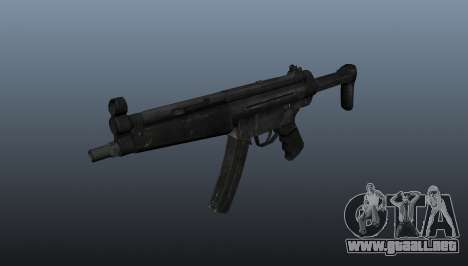 Subfusil HK MP5 A3 para GTA 4