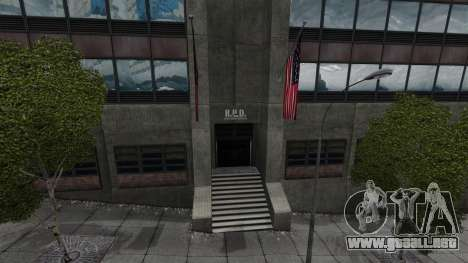 Estación de policía, mapache para GTA 4 quinta pantalla