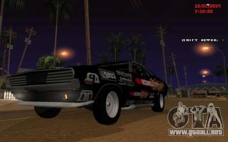 Challenger Missile para GTA San Andreas
