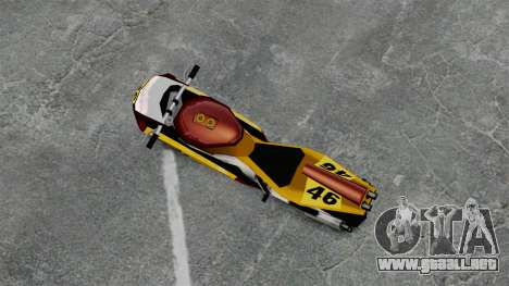 NRG500 para GTA 4 Vista posterior izquierda