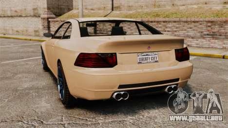 GTA V Zion XS para GTA 4 Vista posterior izquierda