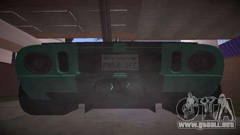 Ford GT TT Ultimate Edition para la visión correcta GTA San Andreas