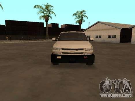 Chevrolet Suburban ATTF para visión interna GTA San Andreas