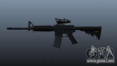 Carabina M4 automático para GTA 4 tercera pantalla