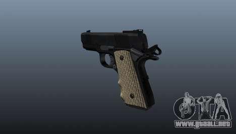 Pistola Colt Defender para GTA 4 segundos de pantalla