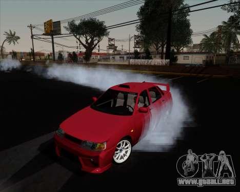 VAZ 2110 para vista inferior GTA San Andreas