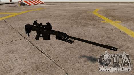El fusil Barrett M98B para GTA 4