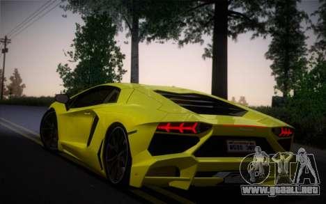 Lamborghini Aventador LP720-4 50th Anniversario para GTA San Andreas left