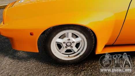 Opel Manta para GTA 4 vista hacia atrás