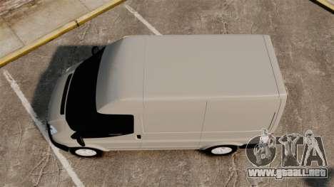 Ford Transit 2013 para GTA 4 visión correcta