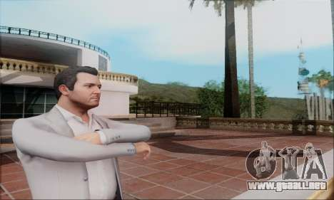 Trevor, Michael, Franklin para GTA San Andreas tercera pantalla