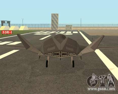 FA-37 Talon para la visión correcta GTA San Andreas