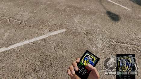 Tema LCPD para tu teléfono para GTA 4