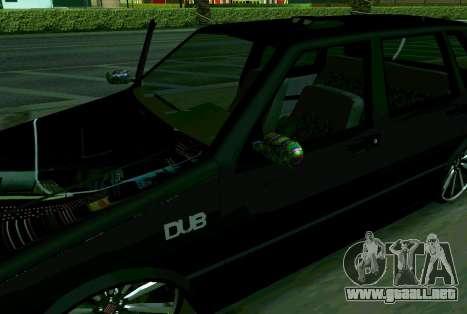 Fiat Uno 2010 Clase 4 para GTA San Andreas vista posterior izquierda