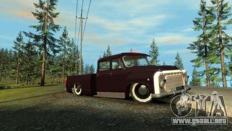 GAZ 53 para GTA 4 left