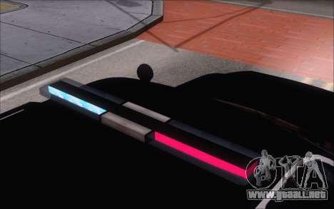 Un jeep de la policía de GTA V para la visión correcta GTA San Andreas
