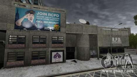 Estación de policía, mapache para GTA 4