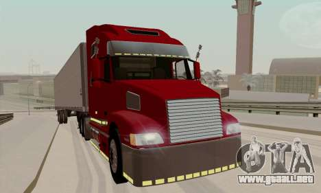 Volvo VNL 770 Custom para GTA San Andreas left