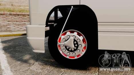 Mercedes-Benz 608 para GTA 4 vista hacia atrás