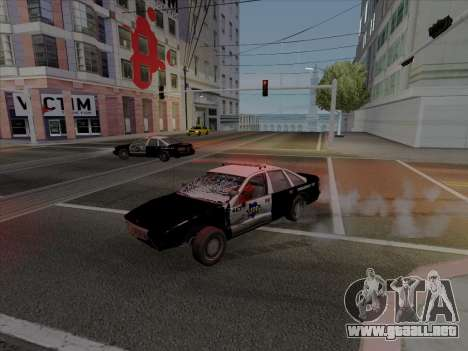 Chevrolet Caprice SFPD 1991 para GTA San Andreas left