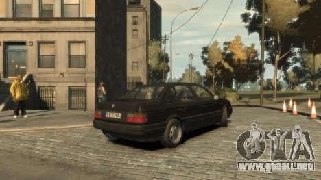 Volkswagen Passat B3 para GTA 4 visión correcta