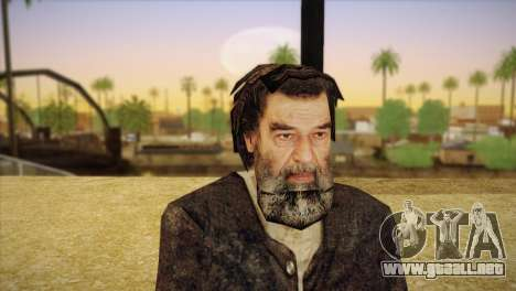 Saddam Hussein para GTA San Andreas tercera pantalla