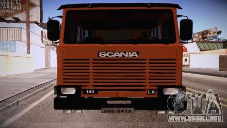 Scania LK 141 6x2 para GTA San Andreas left