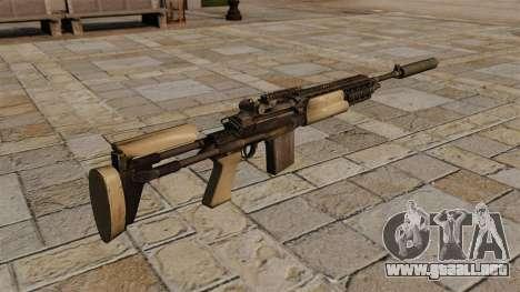 M14 rifle con silenciador para GTA 4 segundos de pantalla