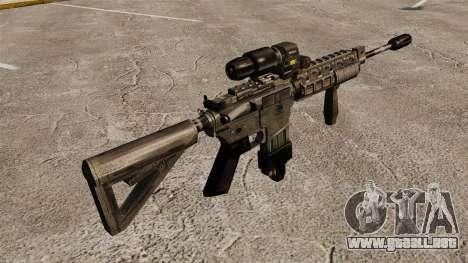 M4 Carbine híbrido alcance para GTA 4 segundos de pantalla