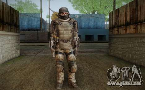COD MW3 Heavy Commando para GTA San Andreas